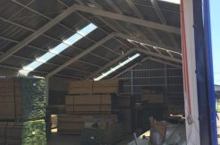 amplia bodega de 436 m2 ubicada en sector industrial Jaime Repullo Talcahuano