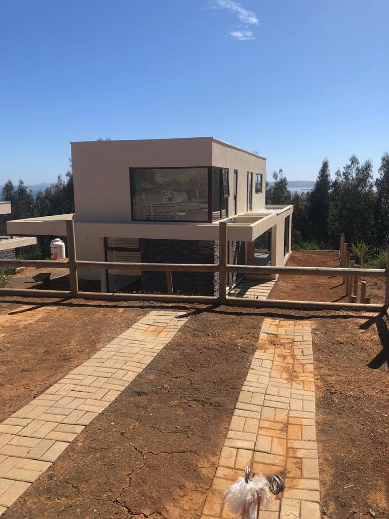 Casa estilo Mediterráneo, exclusivo sector quebrada Honda San José del mar , Tome